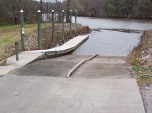 millstone boat ramp near hardeeville sc