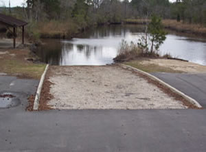 new river boat ramp