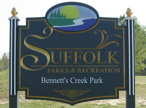 bennetts creek sign