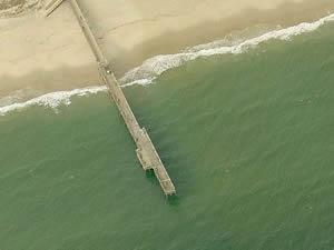 little island sandbridge fishing pier