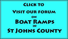 go to st johns county boat ramp forum