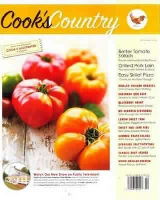 Cover of Cook's Country Magazine