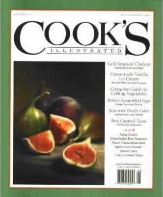 Cover of Cooks Illustrated Magazine