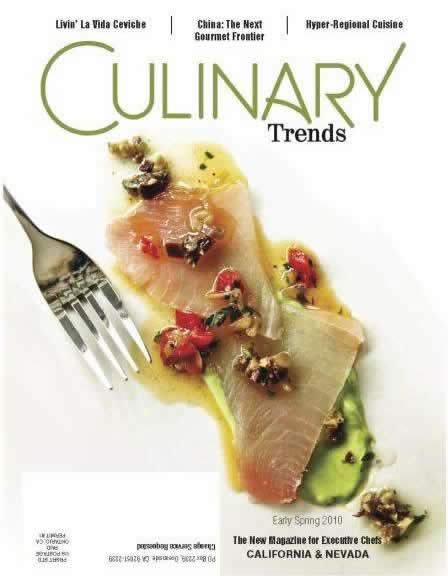 Culinary Trends Magazine cover