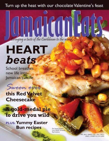 Jamaican Eats Magazine cover
