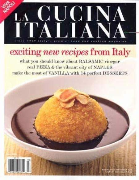 Cover of La Cucina Italiana Magazine