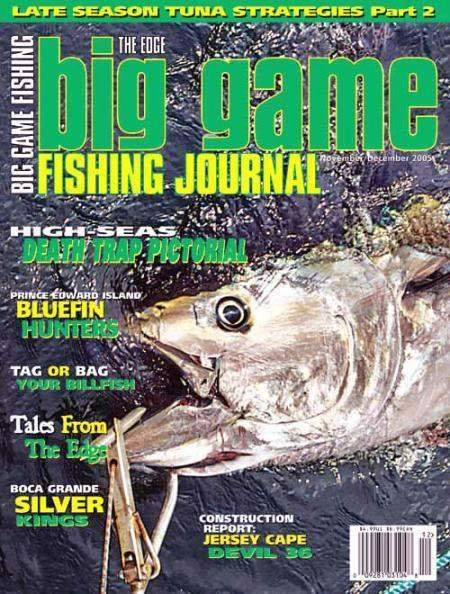 Cover of Big Game Fising Journal Magazine