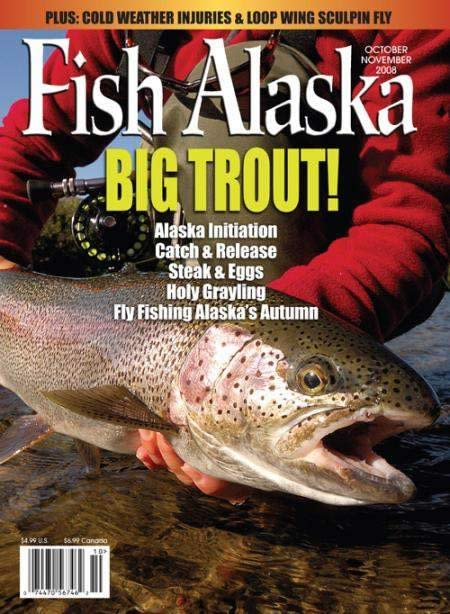 Cover of Fish Alaska Magazine