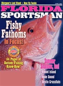 Florida Sportsman Magazine cover