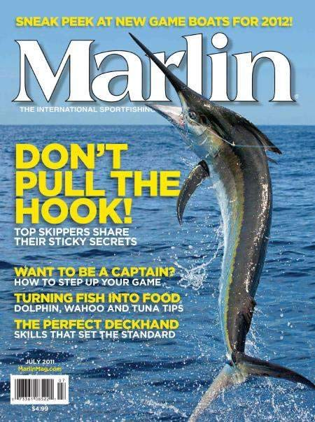 Marlin Magazine cover