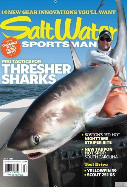 Cover of Salt Water Sportsman Magazine