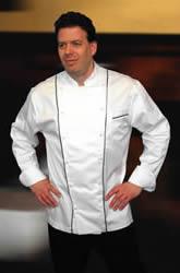 High end chef coats