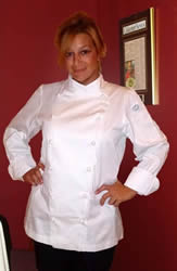Womems cotton chef coat