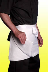 white 4 way aprons for sale