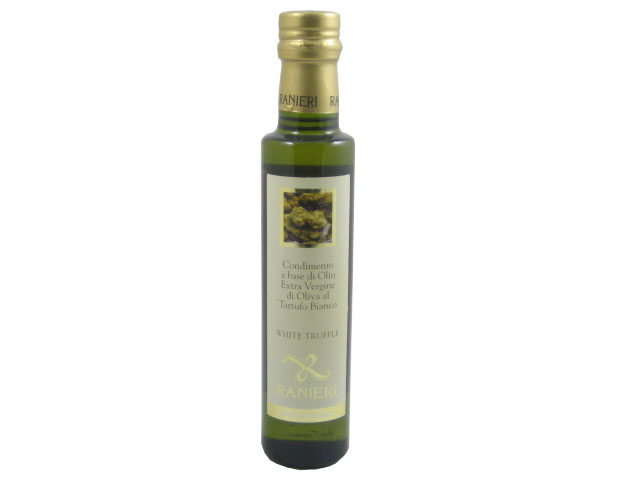 Italian EVOO infused with white truffles