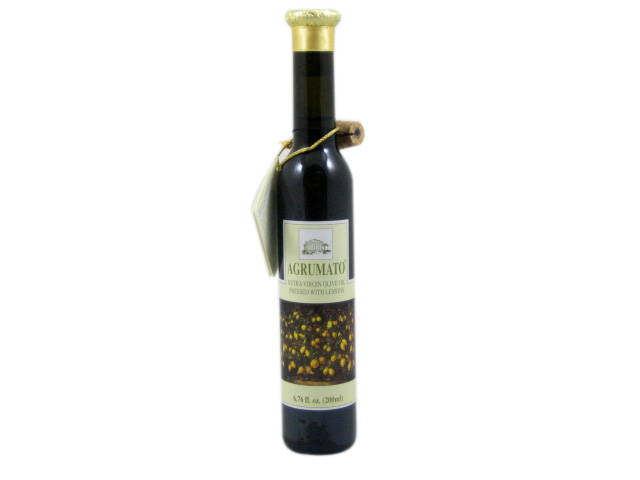 Italian argrumato olive oil with lemon is perfect on fish