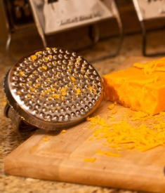 Hand grater that works for all your shredding needs