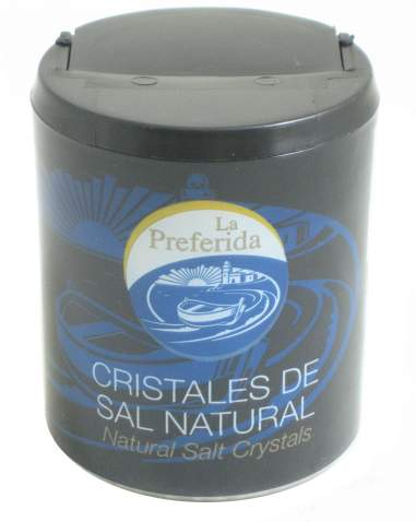 Organic natural salt crystals from Spain