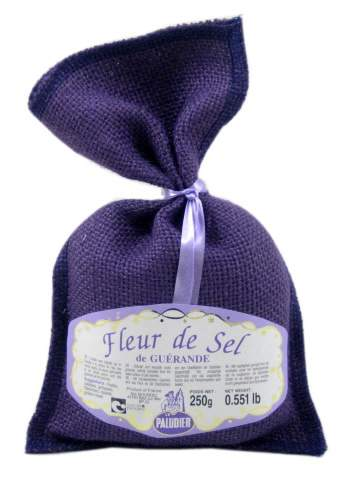 Fleur de Sel sea salt from Guerande France