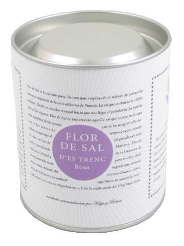 Natural hand harvested gourmet sea salt from Spain