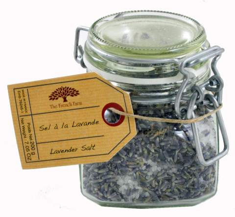 Sea Salt and Lavender mixed salt for the gourmet chef