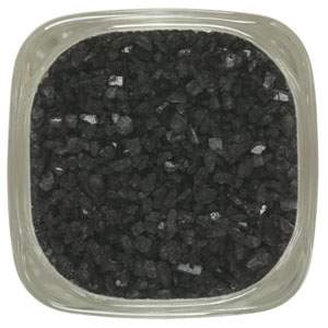 Hawaiian black sea salt