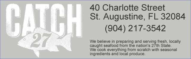 catch 27 restaurant in st augustine
