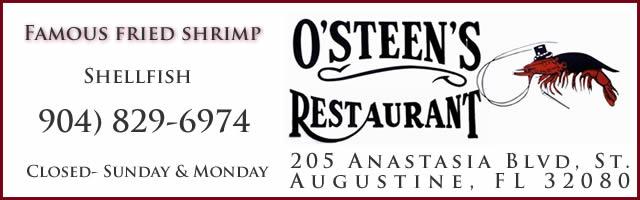 osteens shrimp st augustine florida