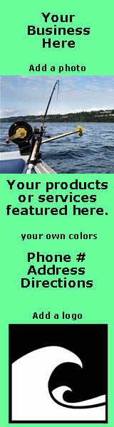 advertise your fishing related business on SaltChef.com