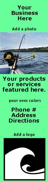 advertise your fishing or boating business on this page on SaltChef.com